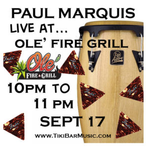 Ole Fire Grill Gig